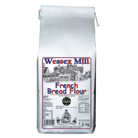 French Bread Type 65 Flour Wessex Mill 1.5kg